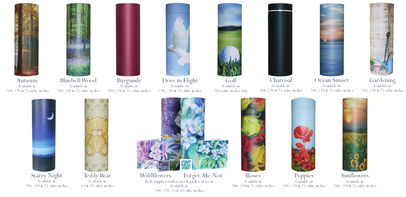 Scatter tubes available in a variety of designs